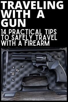 Traveling with a gun is fairly straightforward. Whether traveling to hunt or simply traveling with a firearm for personal protection there are certain steps you need to take to safely travel with a weapon. In this article we give you everything you need to know to travel with a firearm including practical tips on flying with a gun as well as flying with ammunition. Hunting Tips, Travel Tips, Traveling Tips, Hunting Vacation Ideas, Hunting Trips