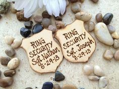 Personalized Wedding Decoration for your Ring by PrinceWhitaker, $20.99