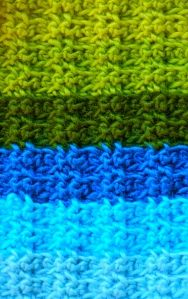 crochet scarf pattern that looks like knit