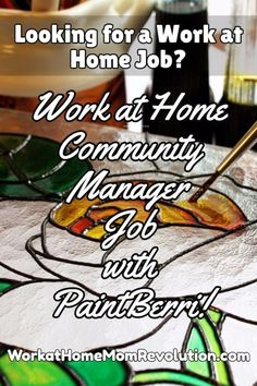 PaintBerri is hiring a work at home community manager on a part-time basis. This is a contract position. Hours are 3 to 10 per week. Awesome work from home opportunity! If you're looking for a home-based job, and you have an interest in art, this might be the perfect work at home job for you! You can make money from home!