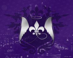 Saints Row Wallpaper by ~Redliya on deviantART - Fleur De Lis Saints Row Games, Saints Row 4, Agents Of Mayhem, Three Logo, Cloud Data, Third Street, Hd Wallpaper, Wallpapers, Desktop Backgrounds