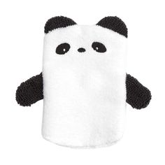Panda Screen Cleaner Mitten - Black & White