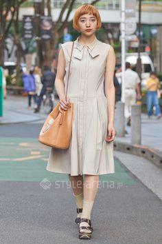 Uhara |  MARNI 靴下屋 BUILDING BLOCK | 5th week  May. 2016 | Omotesando | Tokyo Street Style | TOKYO STREET FASHION NEWS | style-arena.jp