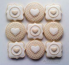Classy Wedding cookies