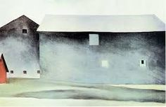 Barn Georgia O' Keeffe Georgia O'keefe Art, Sun Prairie, O Keeffe, Alfred Stieglitz, American Modern, New York Art, Lake George, Modern Artists, Community Art