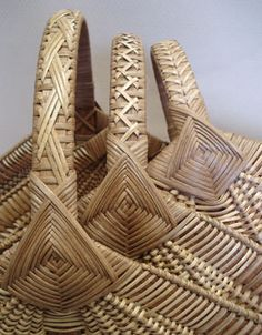 Ribbed Hearth Basket