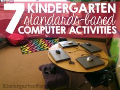 Ever wish there was one location to find kindergarten standards-based computer activities? I& had to figure out some of the best and most kindergarten friendly websites to create lesson plans for my own students to use in the computer lab. Elementary Computer Lab, Computer Lab Lessons, Computer Teacher, Computer Class, Technology Lessons, Teaching Technology, Educational Technology, Gaming Computer, Computer Science