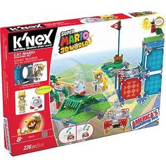 Super Mario Cat Mario Building Set by K'NEX