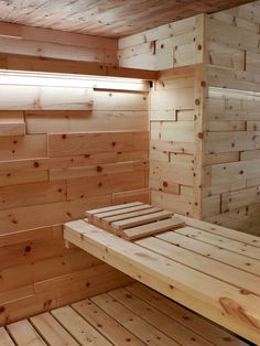 Swiss Pine Wood for Sauna Diy Sauna, Saunas, Sauna Kits, Sauna Ideas, Sauna Wellness, Building A Sauna, Portable Sauna, Pool Table Room, Sauna Design