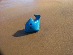 6 hole Dolphin ocarina from STL Ocarina.... Haruka Nanase would love this