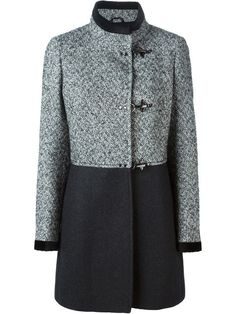 Shop Fay paneled hook fastening coat in Parisi from the world's best independent boutiques at farfetch.com. Shop 300 boutiques at one address.
