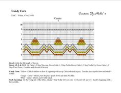 Candy corn smocking