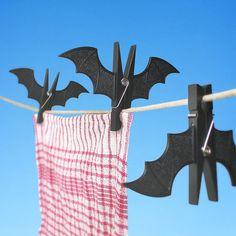 2PCS Originality Plastic Bat Shape Clothes-Peg $4.72