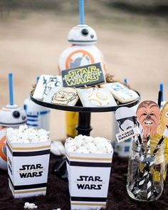 Pin for Later: 26 Things to Do in Your Lifetime If You're a True Star Wars Fan Throw a Star Wars party. Whether it's for a birthday or for Halloween, you really can't go wrong making every aspect of a party Star Wars themed.