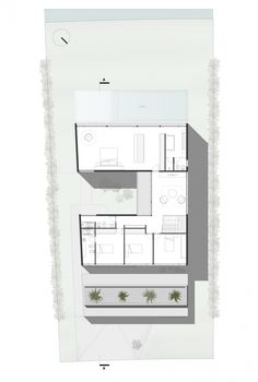 House Ef / Fritz + Fritz Arquitectos Planta Segunda