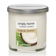 Yankee Candle simply home Tropical Coconut 7-oz. Jar Candle