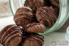 Receita de Cookie de chocolate diet