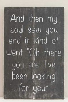Ive been looking for you!