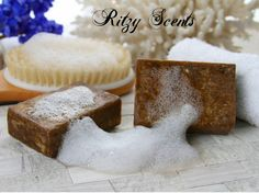 4 oz Raw African Black Soap fresh and sealed by RitzyScents