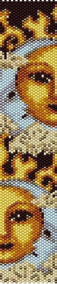 Peyote stitch pattern!! I feel a new project coming on!!!