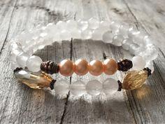 Gemstone bracelet Woman bracelet Bohemian bracelet by KennlyDesign