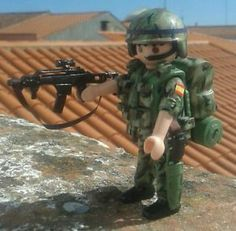 Contemporary Spanish Soldier 03
