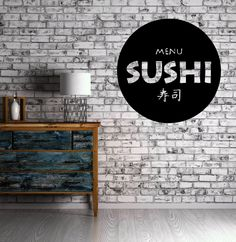 Restaurant Japanese Food Business Sushi Store Wall Art Vinyl Sticker (z633)
