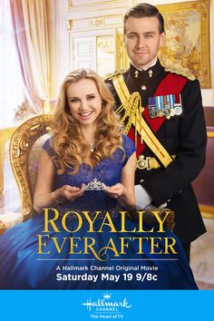 Royally Ever After - Fiona Gubelman and Torrance Coombs star in an all new royal romance, shot on location in Ireland. Keep the Day of Royal Romance going on May 19 9/8c, only on Hallmark Channel! #RoyallyEverAfter #HallmarkChannel