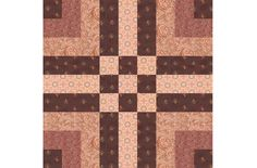 """Bishop Hall is an easy 9"""" quilt block pattern that's assembled almost entirely with quick piecing techniques. Try the design for your next quilt."""