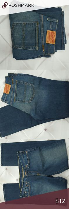 "Lucky Denim Dungarees Retro Rider Jeans 31Long Lucky brand denim dungurees bootcut jeans in a dark rinse denim. Like new. Retro rider style in a long length. Tagged size 31L .  Measurements : Length 42"" 33 1/2"" Inseam 16"" across front waist laying flat   #ravenkittystyle #lucky #denim #dungarees #darkrinse #31L #long #tall #size31 #retrorider #classic #bootcut Lucky Brand Jeans Boot Cut"
