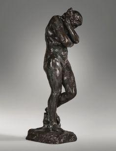 rodin, auguste ève, grand modèle ||| figures ||| sotheby's l16006lot93vhcen Modern Sculpture, Bronze Sculpture, Sculpture Art, Auguste Rodin, Carpeaux, French Sculptor, Camille Claudel, Statues, Impressionist