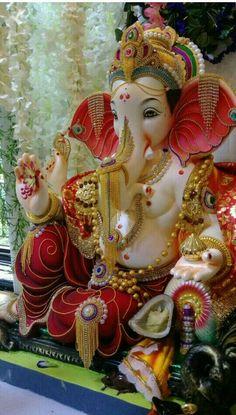 Jai Ganesh, Ganesh Lord, Ganesh Idol, Ganesh Statue, Shree Ganesh, Ganesha Drawing, Lord Ganesha Paintings, Ganesha Art, Shri Ganesh Images
