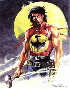 Zagor, one of the best italian characters