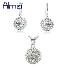 Cheap Crystal Necklace Earrings Set Buy Quality For Women Directly From China Earring Suppliers Uloveido Bridal Jewelry Sets