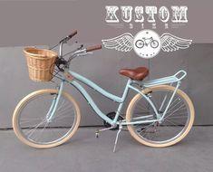 bicicleta retrô feminina cestinha vime bike vintage inspired