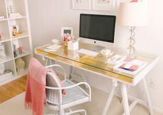 Gold Leafed Desk