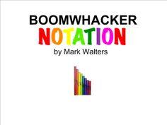 SMART Exchange - USA - Boomwhacker Notationj