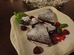 Raspberry Brownies.Yum!
