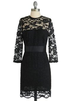 Just bought this beauty from ModCloth (So Noir, So Good Dress). I can't wait to wear it with some red pumps :D