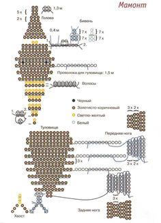 Mammoth scheme of weaving