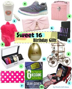 Teen Girl Gifts. Sweet 16 Birthday
