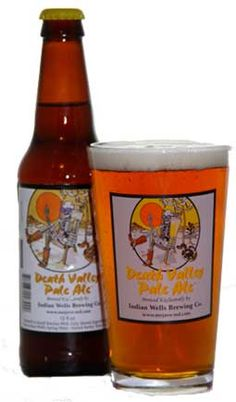 Death Desert Pale Ale | Indian Wells Valley Brewing