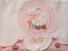 Kit Porta roupas de bebê coroa