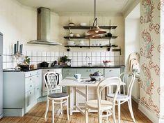 Un apartamento vintage con toques nórdicos