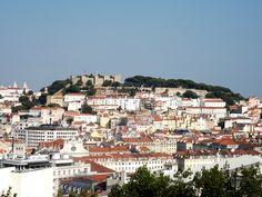 Colina do Castelo de São Jorge, Lisboa, Portugal