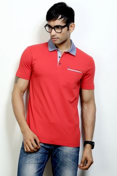 Fashion Polo with a Stylish Collar to Rock your Weekend