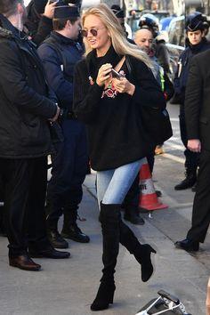 Zó arriveren de modellen bij de grote Victoria's Secret 2016 show in Parijs
