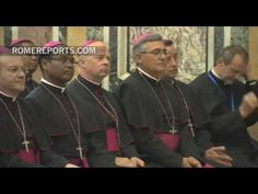 Pope meets with 96 new bishops learning about their new position in Rome - ROME…