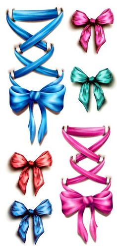 Temporary Tattoos: Bows | Available in the 50mm Photography Shop $7.99