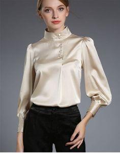 Satin Blouse | Silk & Satin Fashion